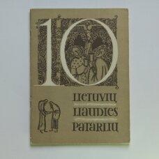 10 lietuvių liaudies patarlių