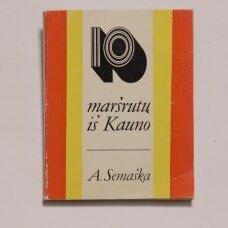 10 maršrutų iš Kauno