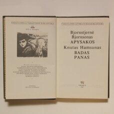 Apysakos / Bjornstjernė Bjornsonas ;  Badas ; Panas : romanai / Knutas Hamsunas