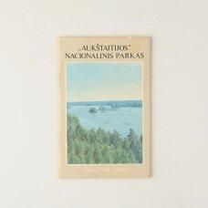 """""""Aukštaitijos"""" nacionalinis parkas : svarbiausios žinios"""