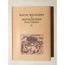 Baltų religijos ir mitologijos šaltiniai  T. II : XVI amžius