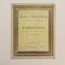Galerie Robert Finck : exposition de tableaux de maitres du XVe au XIXe siècle