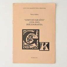 """""""Gimtojo krašto""""  (1934-1943) bibliografija"""