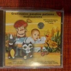 Gražiausios pasakos patiems mažiausiems 3 d. CD