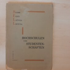 Hochschulen und studentenschaften :  Suomi, Eesti, Latvija, Lietuva