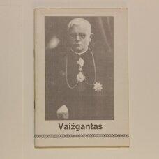 Juozas Tumas Vaižgantas, 1869-1933