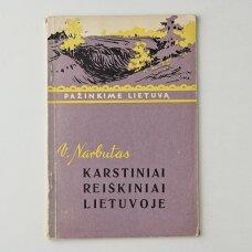 Karstiniai reiškiniai Lietuvoje