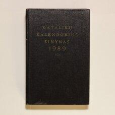 Katalikų kalendorius žinynas 1989