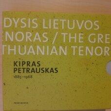 Kipras Petrauskas. Didysis Lietuvos tenoras CD