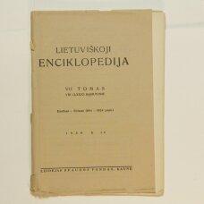 Lietuviškoji enciklopedija VII Tomas VIII sąsiuvinis