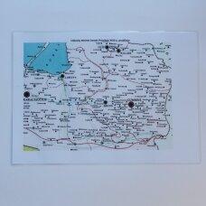 Lietuvių etninės žemės Prūsijoje XVIII a. pradžioje