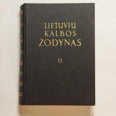 Lietuvių kalbos žodynas T. II