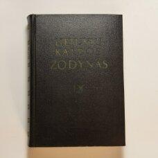 Lietuvių kalbos žodynas T. IX