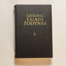 Lietuvių kalbos žodynas T. X