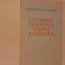 Lietuvių liaudies dainų eilėdara
