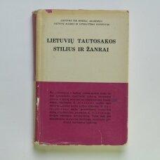 Lietuvių tautosakos stilius ir žanrai