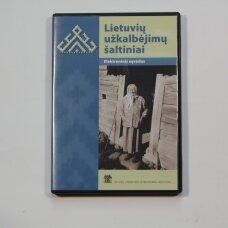 Lietuvių užkalbėjimų šaltiniai DVD (elektronnis sąvadas)