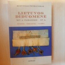 Lietuvos diduomenė XIV A.  pabaigoje- XV A.