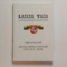 Lietuvos laikinoji vyriausybė (1941 06 22-08 05)