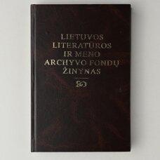 Lietuvos literatūros ir meno archyvo fondų žinynas