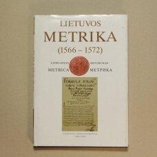 Lietuvos metrika Kyga Nr. 530 : (1566-1572) ; Viešųjų reikalų knyga 8