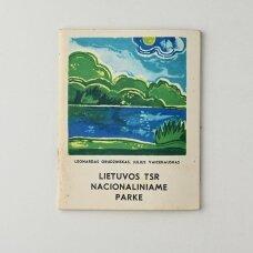 Lietuvos TSR nacionaliniame parke