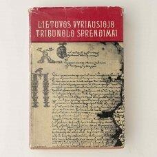 Lietuvos vyriausiojo tribunolo sprendimai, 1583-1655