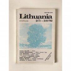 Lithuania : kwartalnik, 2(7)–3(8)'92