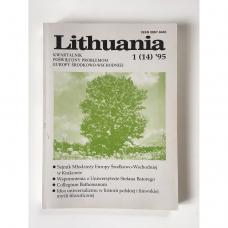 Lithuania. Kwartalnik poświęcony problemom Europy Środkowo-Wschodniej