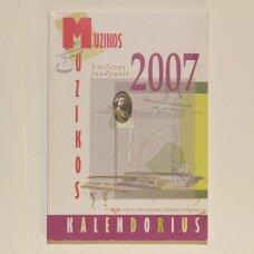 Muzikos kalendorius 2007
