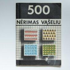 Nėrimas vąšeliu : 500 pavyzdžių ir komentarai