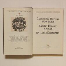 Novelės / Žigmondas Moricas ; Karas su salamandromis : romanas / Karelas Čapekas
