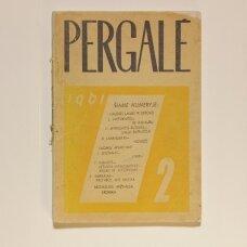 Pergalė 1961, Nr. 2