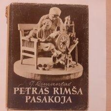 Petras Rimša pasakoja