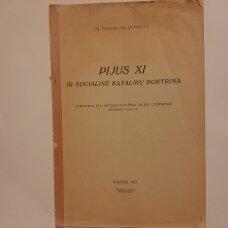 Pijus XI ir socialinė katalikų doktrina
