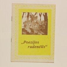 Poezijos rudenėlis