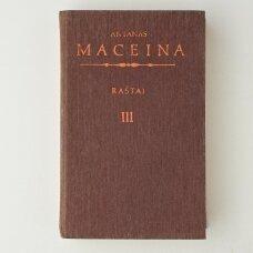 """Raštai III : Trilogija """"Cor inquietum"""""""