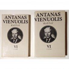 Raštai T. VI, I-II knyga