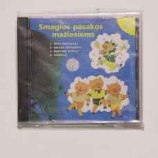 Smagios pasakos mažiesiems 4 d. CD