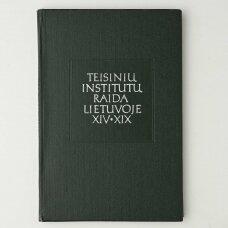 Teisinių institutų raida Lietuvoje