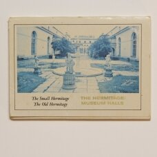 The hermitage: museum halls