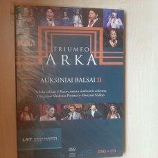 Triumfo Arka Auksiniai Balsai II, 1CD, 1 DVD