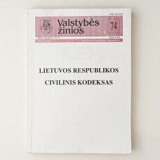 Valstybės žinios 2000, Nr. 74