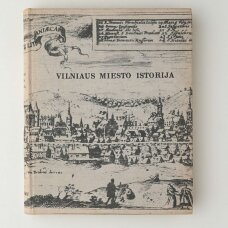 Vilniaus miesto istorija : nuo seniausių laikų iki Spalio revoliucijos