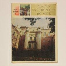 Vilniaus universitetui - 400 metų