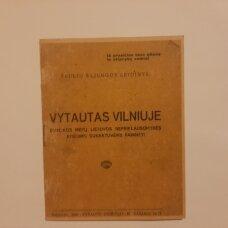Vytautas Vilniuje