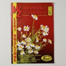Wiadomości zielarskie, 1996, Nr. 7/8